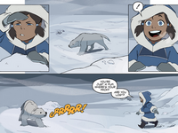 Korra discovers Naga