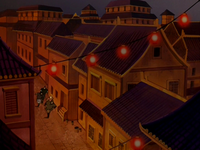 Fire Nation colonial village