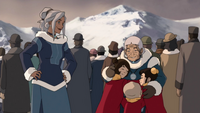 Katara and her grandchildren