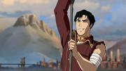 Iroh thanking Aang