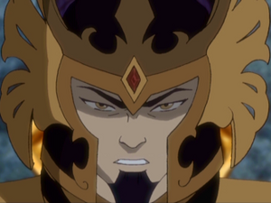Ozai as Phoenix King