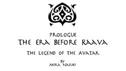 Prologue The Era of Raava