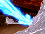 Katara and Azula fight