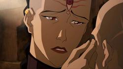P'Li's tearful eyes