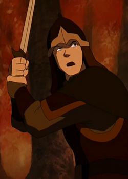 Fire Nation swordsman