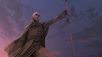 Aang statue