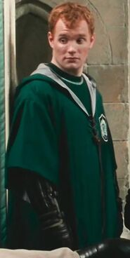 Tony Christian as Slytherin Beater No 3