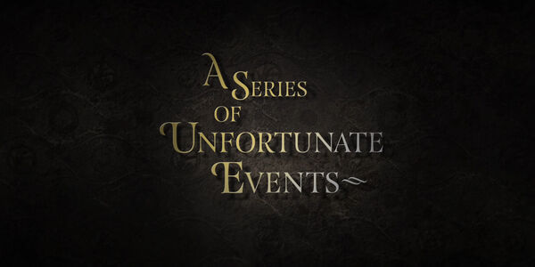 A Series of Unfortunate Events (2017) Logo
