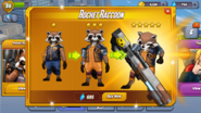 Rocket Raccoon Ranks Ad