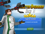 Character Upgraded! Doctor Octopus Rank 5