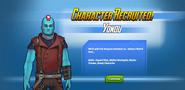 Character Recruited! Yondu