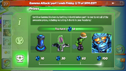Gamma Attack Pt. 1 Prizes