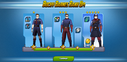 Bucky Barnes Ranks