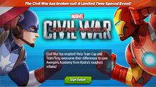 Civil War Event Intro