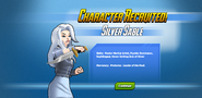 Character Recruited! Silver Sable
