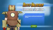 Outfit Unlocked Cardboard Iron Man
