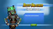Outfit Unlocked! Cyborg Leader