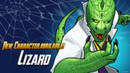 Recruit Available The Lizard
