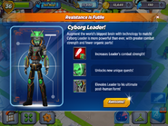Cyborg Leader