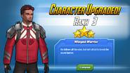 Character Upgraded! Falcon Rank 3