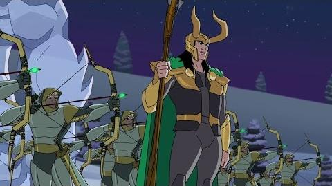 Marvel's Super Hero Adventures Frost Fight Clip Loki Fights Captain America