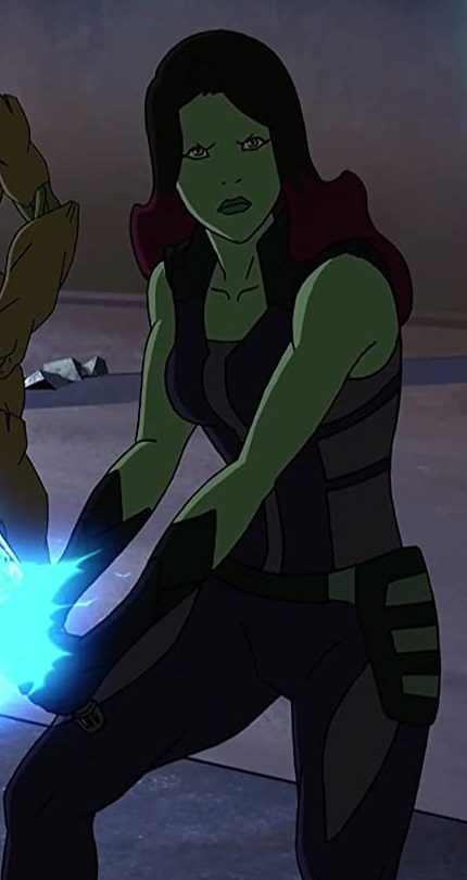 Gamora Ultimate Spider-Man