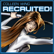 Colleen Wing Recruited