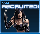 X-23 Recruited Old