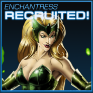 Enchantress Recruited