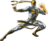 Heroic Age Iron Fist Right Portrait Art