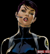 Maria Hill (Version 1) Portrait Art