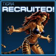 Tigra Recruited