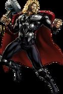 Avengers Thor Portrait Art