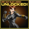 Black Widow Grey Suit Unlocked