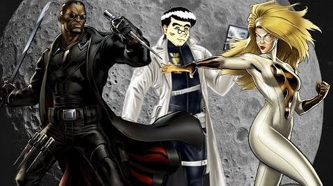PVP 28 BLADE MOONSTONE (Adamantium League) Marvel Avengers Alliance Agent Agente ANNHE Friki