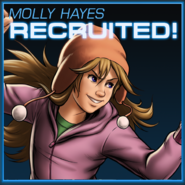 Molly Hayes Recruited