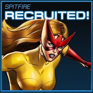 Spitfire Recruited