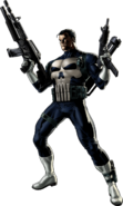 Punisher Right Portrait Art