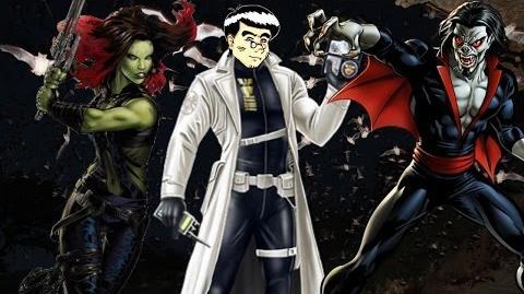 PVP 28 GAMORA MORBIUS. Marvel Avengers Alliance Agent Agente @ANNHELUZ Friki.