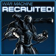 War Machine Recruited