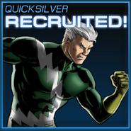 Quicksilver Recruited