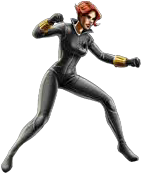 Black Widow-Grey Suit