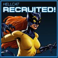 Hellcat Recruited