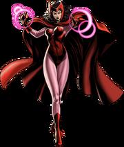 Scarlet Witch Portrait Art