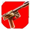 Gilded Semi-Auto Gun