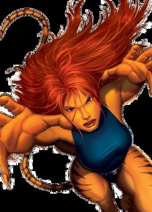 Tigra Marvel XP