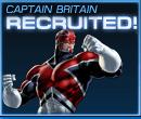 Captain Britain Recruited Old