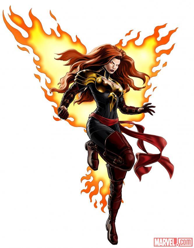 Phoenix Five Phoenix Marvel.com Art