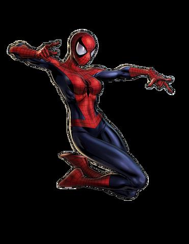 File:Amazing Spider-Woman Portrait Art.png