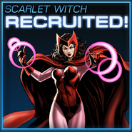 Scarlet Witch Recruited